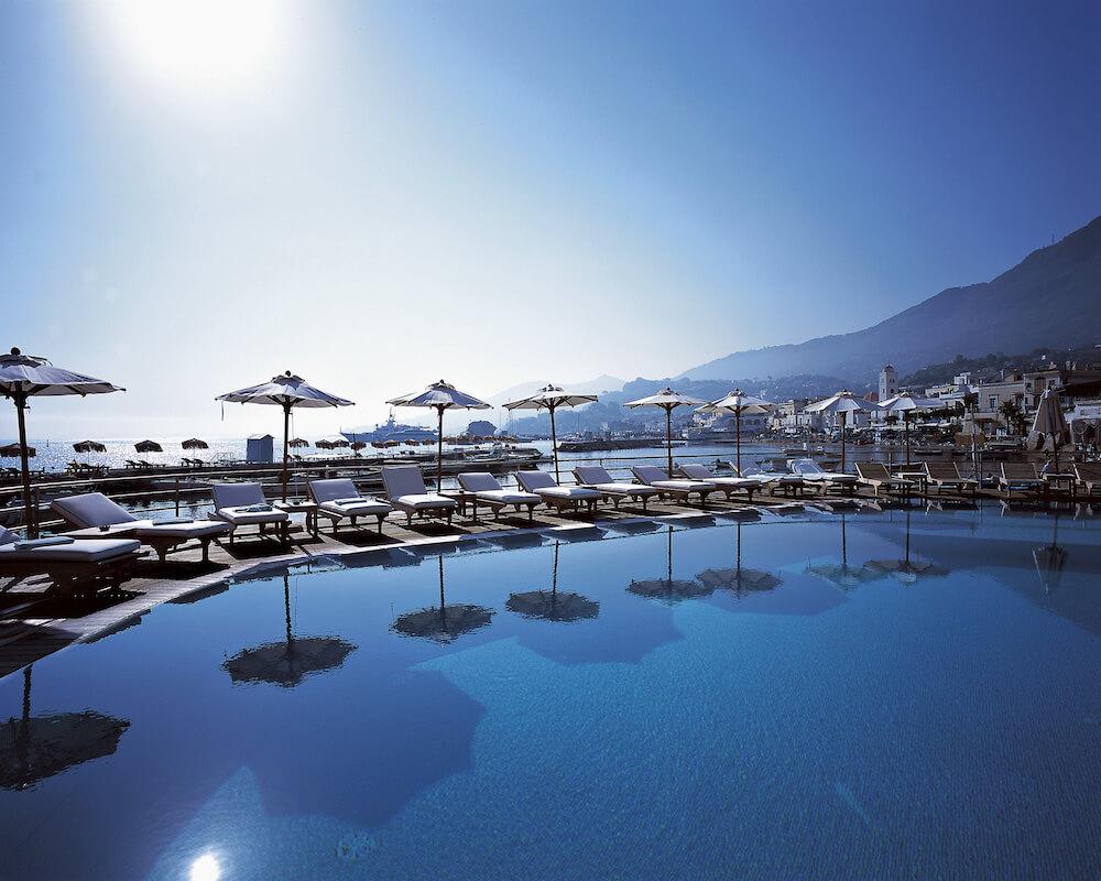 buitenzwembad Regina Isabella Spa Resort (Ischia, Italië)
