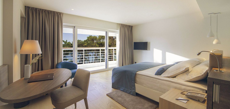 Superior kamer met zeezicht Bellevue Spa Resort